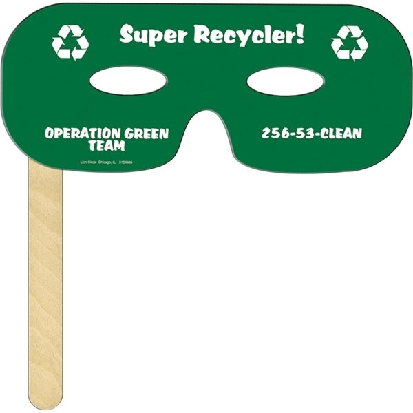 Promotional Lone Ranger Mask on a Stick - Paper Products