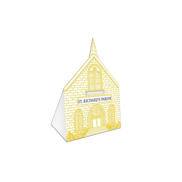 Promotional Church bank - Paper Products