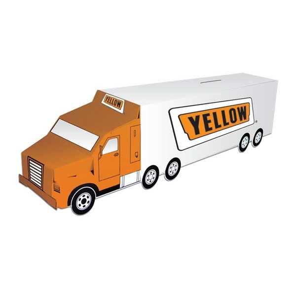 Promotional Semi Truck Bank - Paper Products
