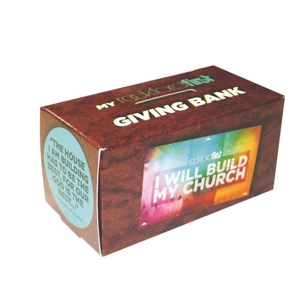 Promotional Box Bank Small - Paper Products