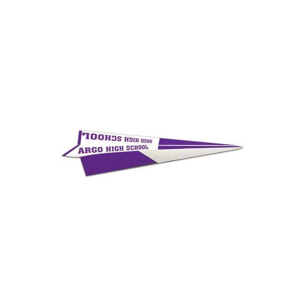 Promotional Traditional Fold Paper Airplane - Paper Products