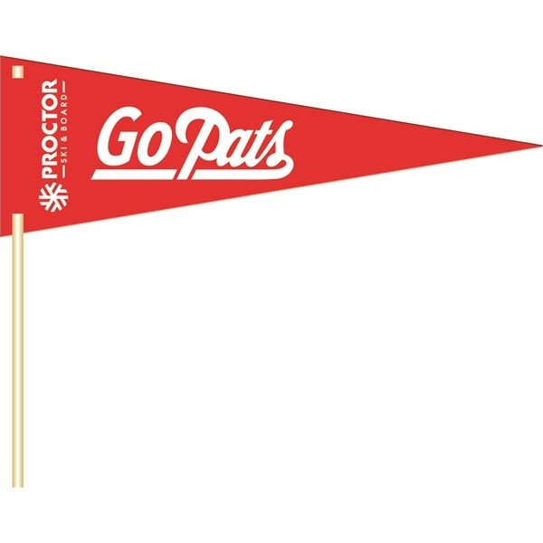 Promotional Large Pennant - Paper Products