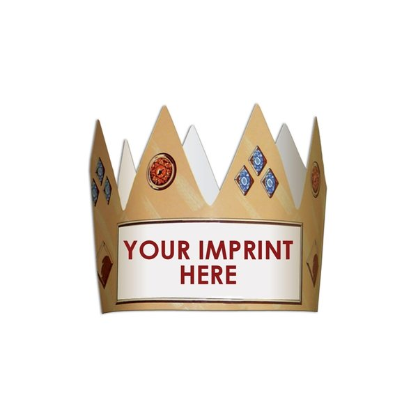 Promotional Kings Crown - Paper Products