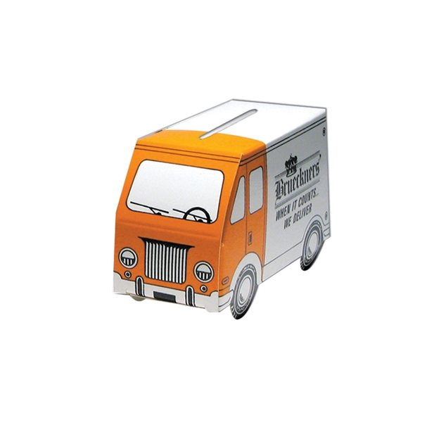 Promotional Small Van Bank - Paper Products