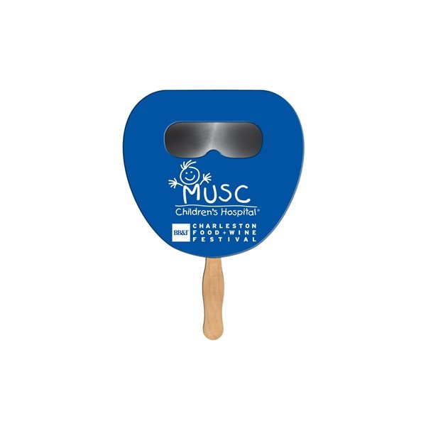 Promotional Palm Leaf Sun Shade Fan - Paper Products
