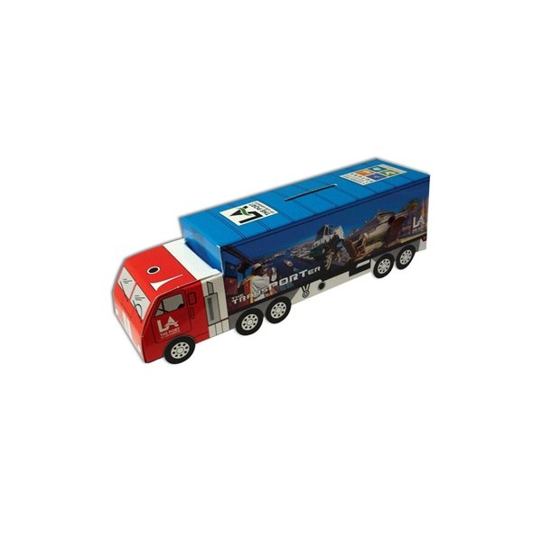 Promotional Truck Bank - Paper Products