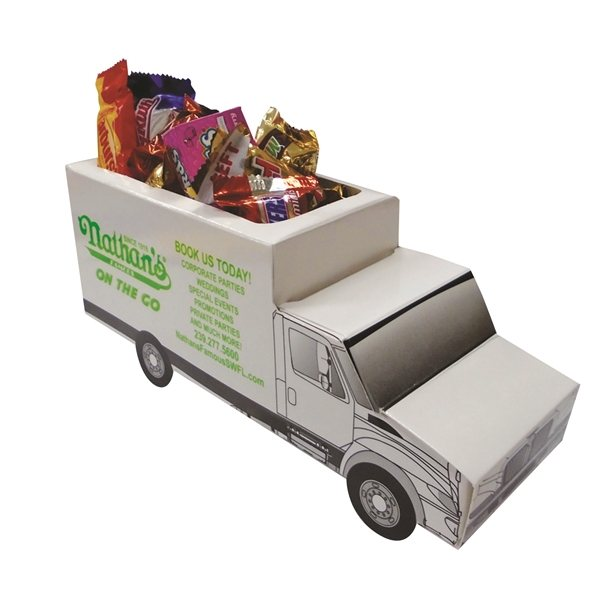 Promotional Truck Candy Dish - Paper Products