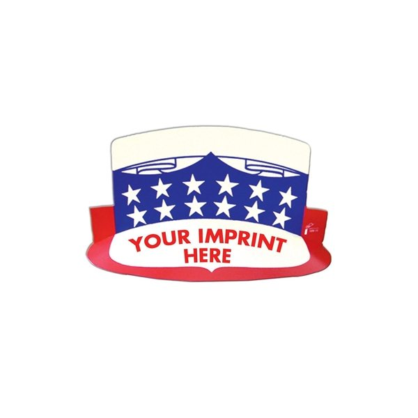 Promotional USA Visor W / Elastic Band - Paper Products