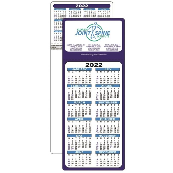 Promotional Stick - up Calendar - Paper Products