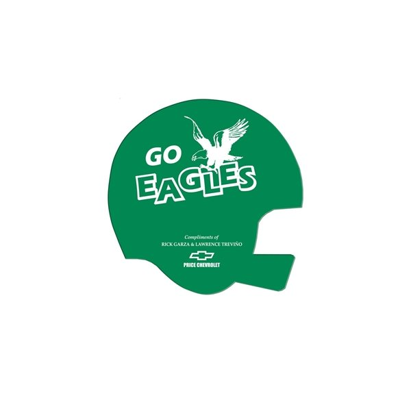 Promotional Helmet Fan Without A Stick - Paper Products