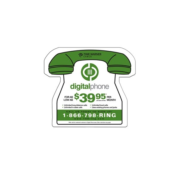 Promotional Phone Fan Without A Stick - Paper Products