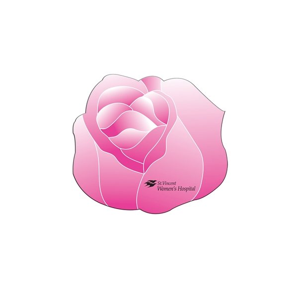 Promotional Flower Fan Without A Stick - Paper Products