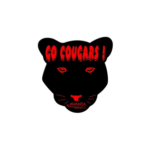 Promotional Cougar Fan Without A Stick - Paper Products