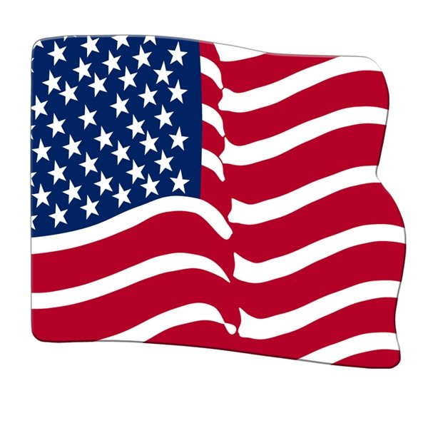 Promotional Flag Fan Without A Stick - Paper Products