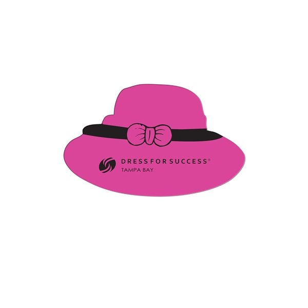 Promotional Dress Hat Fan Without A Stick - Paper Products