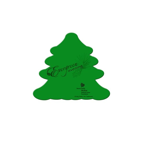 Promotional Evergreen Fan Without A Stick - Paper Products