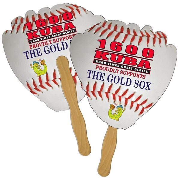 Promotional Glove Digital Hand Fan (2 Sides)- Paper Products