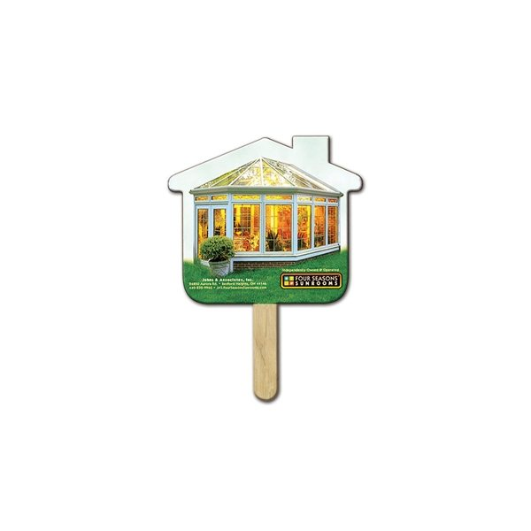Promotional House Mini Fan - Paper Products
