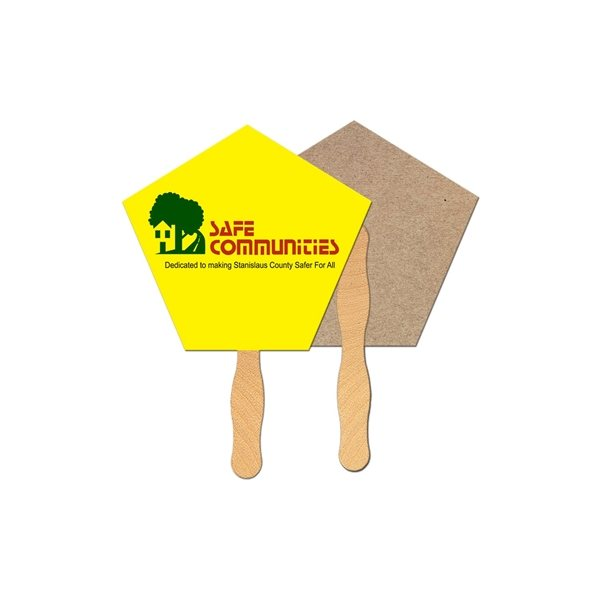 Promotional Church Recycled Stock Fan - Paper Products