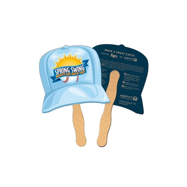 Promotional Baseball Cap Recycled Stock Fan - Paper Products
