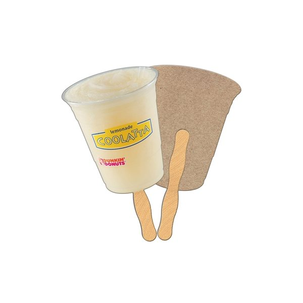 Promotional Cup Recycled Stock Fan - Paper Products