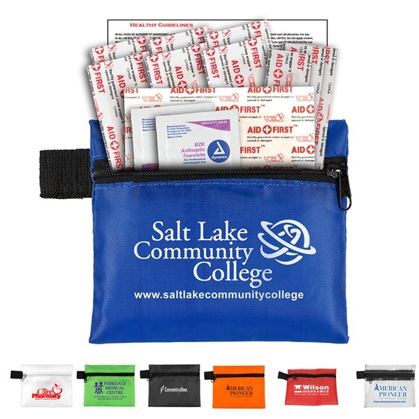 Promotional On The Go Kit 1 13 Piece First Aid Kit