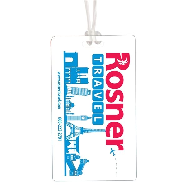 Promotional Write On Surface Luggage Bag Tag