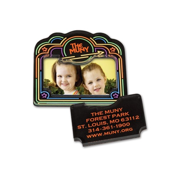 Promotional Custom Shape Acrylic Magnet Frames - 13-20 Sq. Inches