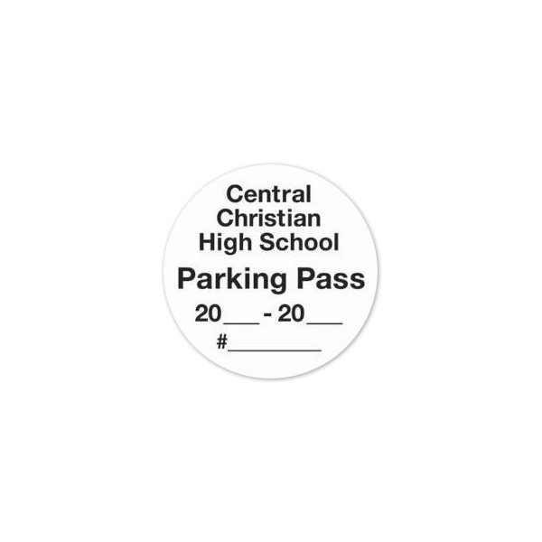 Promotional Multi - Use Decal 2 round