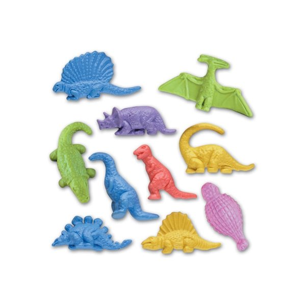 Promotional Figurine Stock Eraser - Jr. Dinosaur Collection
