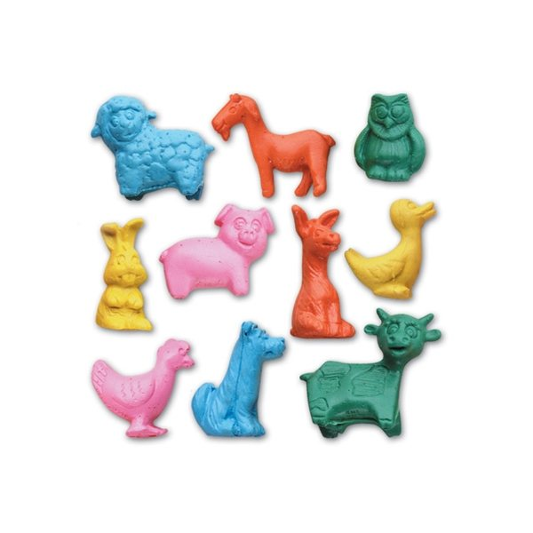 Promotional Figurine Stock Eraser - Jr. Farm Animal Collection
