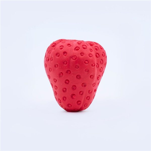 Promotional Pencil Top Stock Eraser - Strawberry, Scented