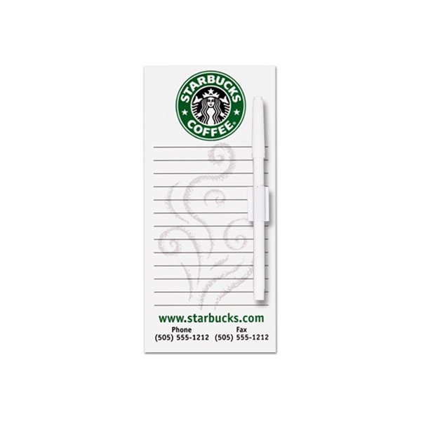 Promotional Rectangle Memo Board - 4 X 9 1/4