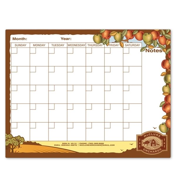 Promotional Rectangle Memo Board - 8 1/2 X 11