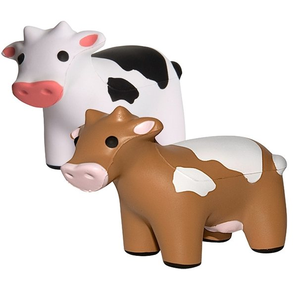 Promotional Cow Squeezies Stress Reliever