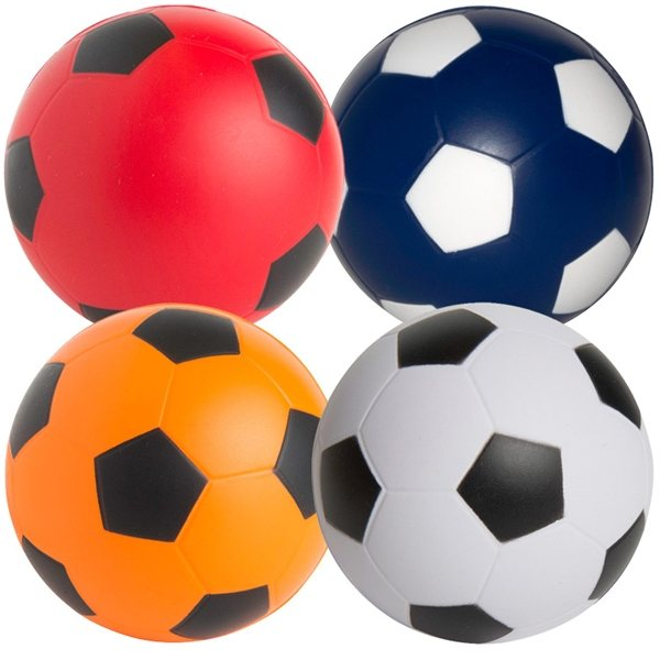 Promotional Soccer Ball Squeezies Stress Reliever