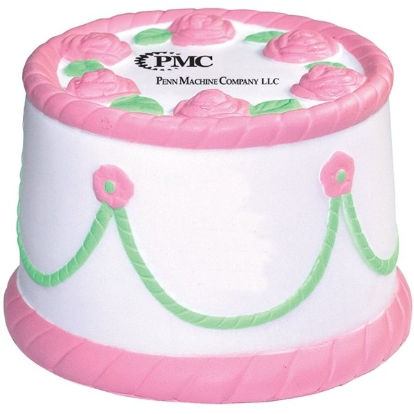 Promotional Cake Squeezies - Stress reliever