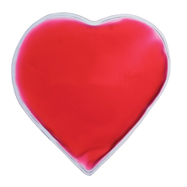 Promotional Heart Shaped Red Chill Patch Cold Pack