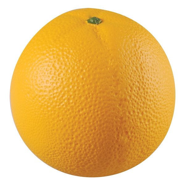 Promotional Orange Squeezies Stress Reliever