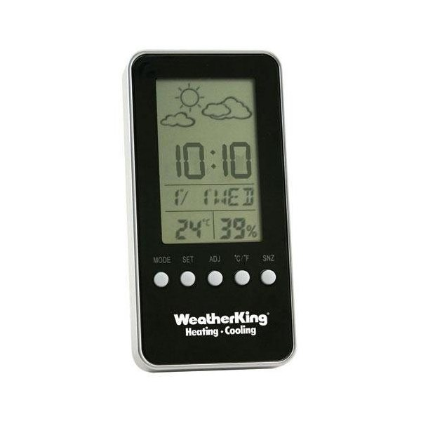 Promotional Digital Weather Station with Alarm Clock