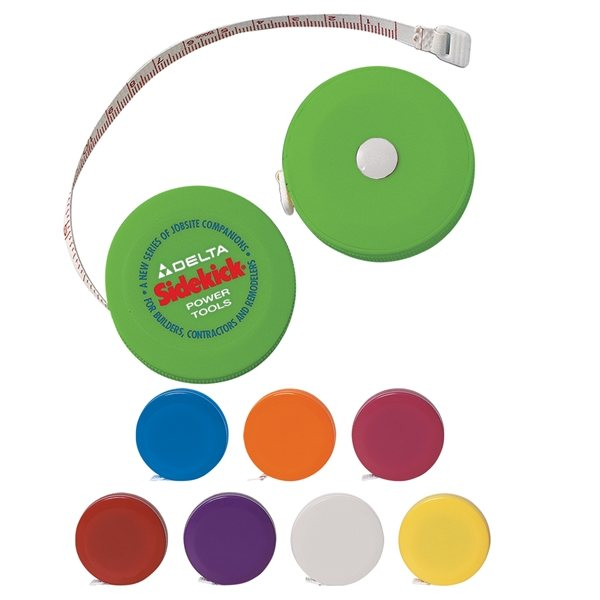 Promotional 60 Retractable Cloth Tape Measure
