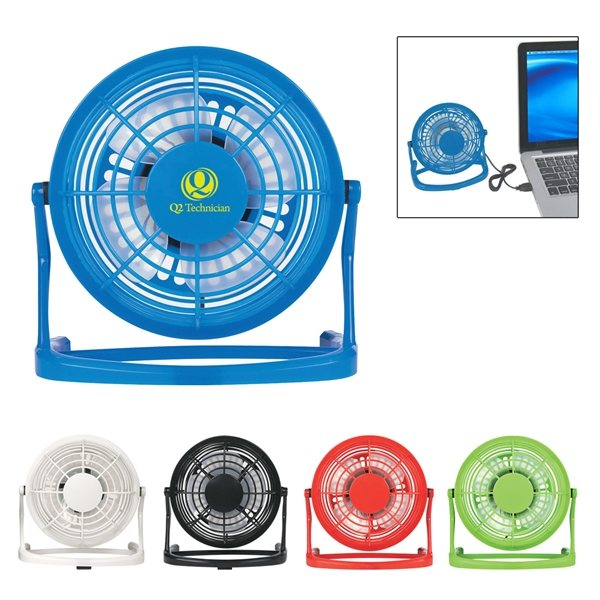 Promotional USB Plug - In Fan