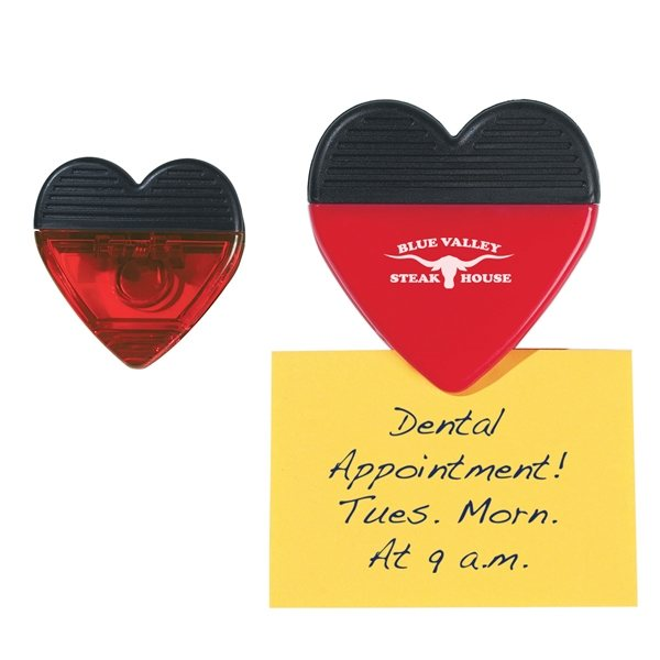 Promotional Heart Shaped Clip