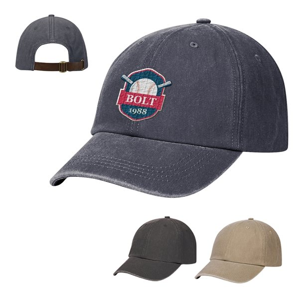 Promotional Washed Cotton Dad Cap