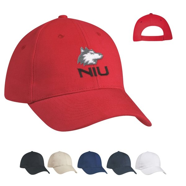Promotional 100 Brushed Cotton Twill Price Buster Cap