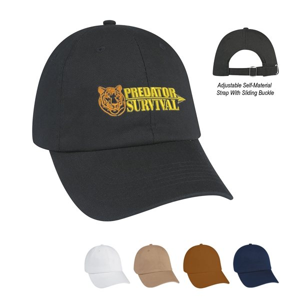 Promotional 100 Washed Cotton Twill Cap