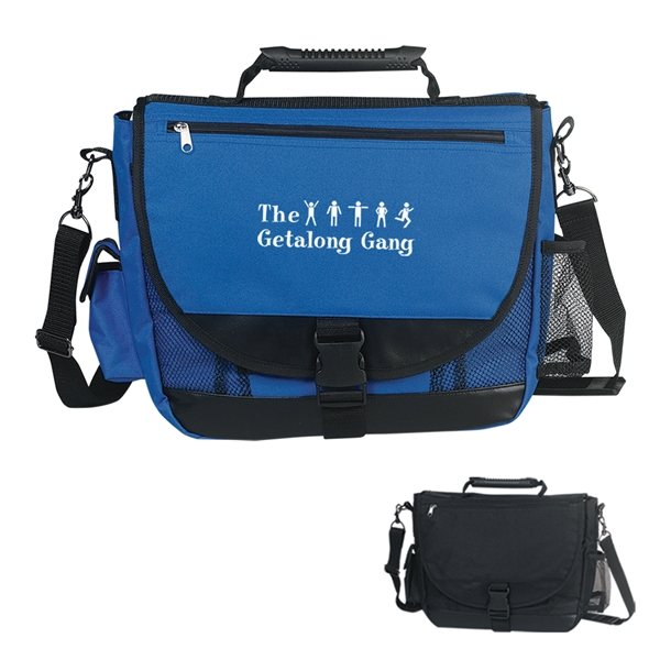 Promotional Carry - On Companion Messenger Bag