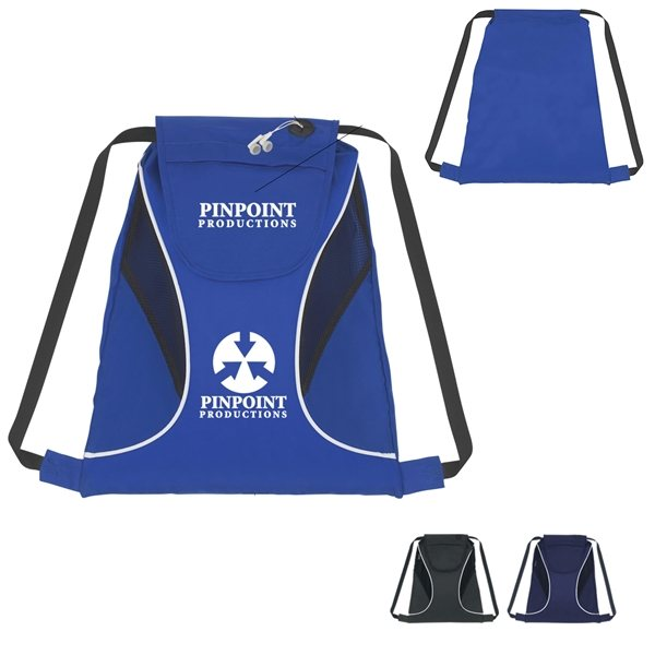Promotional Sports Pack With Mesh Sides