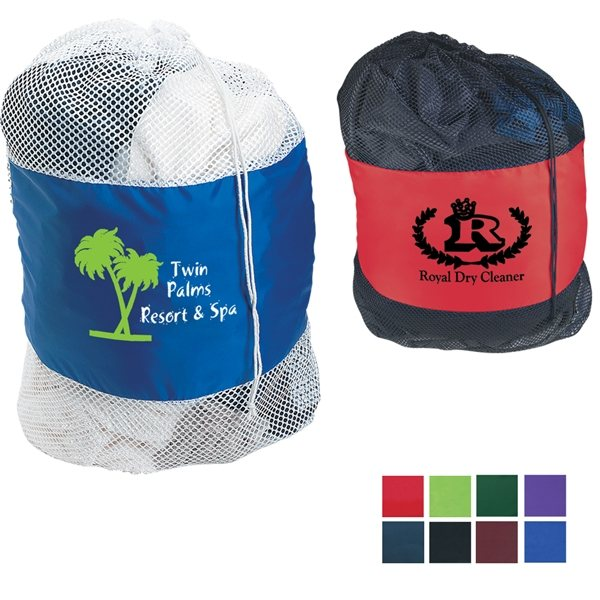 Promotional Mesh Laundry Bag