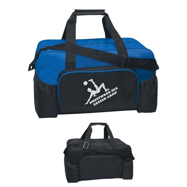 Promotional 600D Polyester Econo Duffel Bag